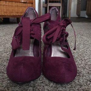 Marron Heels